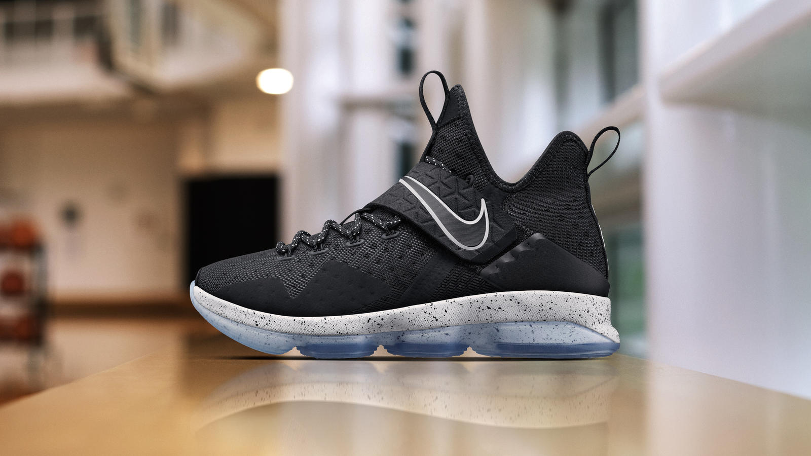 "Nike Lebron 14 ""BLACK ICE"" – New Style for Lebron?"