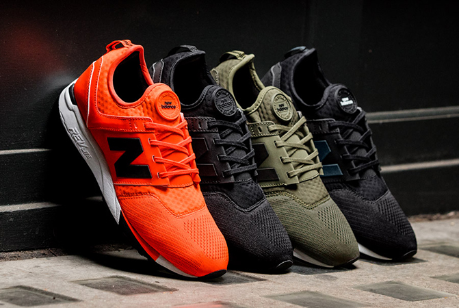 new balance 247 knit casual