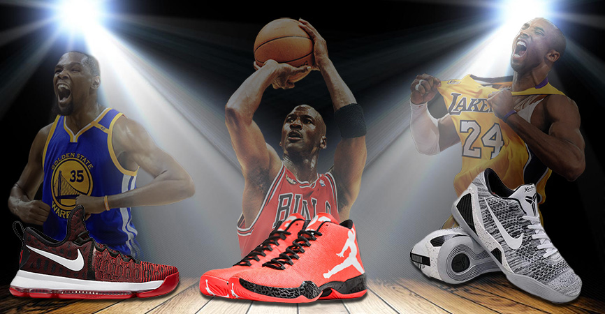 finest selection 11cf7 3766a THE BEST BASKETBALL SHOES OF ALL TIME – FIVE HOLY GRAILS