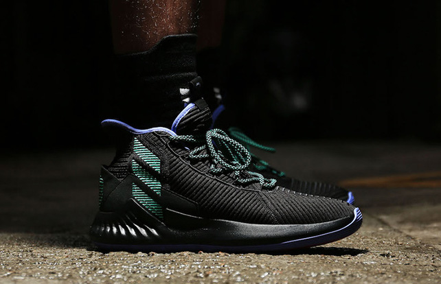 adidas d rose 4 on feet