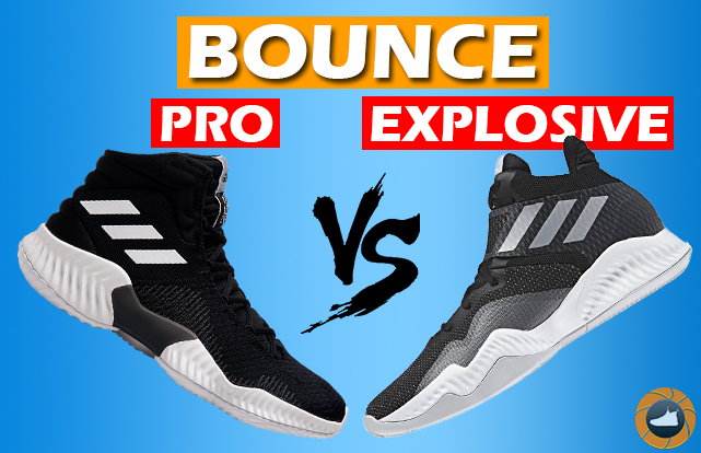 brand new 5a2de 819db adidas Pro Explosive Bounce 2018 REVIEW – Which One To Pick