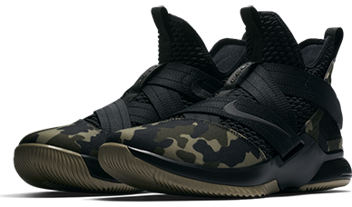 super cute 5df21 bc948 Nike LeBron Soldier 12 REVIEW – Checks Over Stripes ...