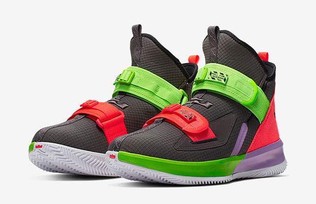 quality design 31f19 e5f72 Nike LeBron Soldier 13 REVIEW – Quadruple Strap System ...